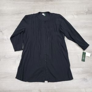 Ralph Lauren black cover up NWT
